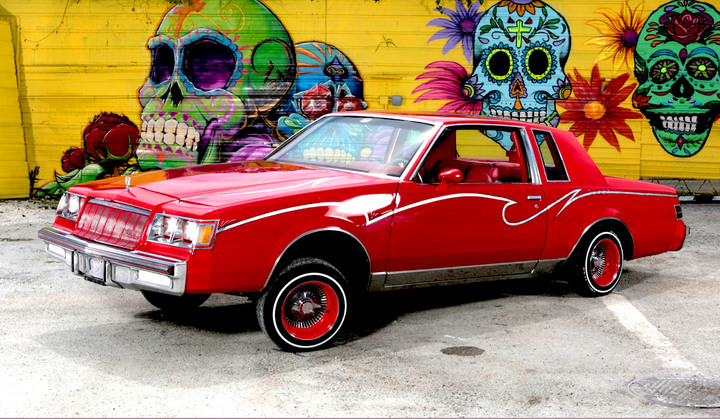 Lowriders Miami Movie Cars